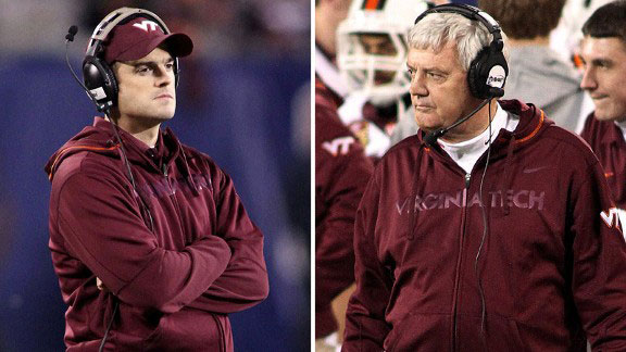 Shane and Frank Beamer