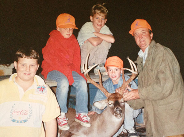 Tommy Hite and sons