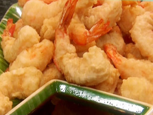 Dad's shrimp tempura